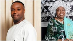 Femi Adebayo celebrates mother with beautiful photo on social media