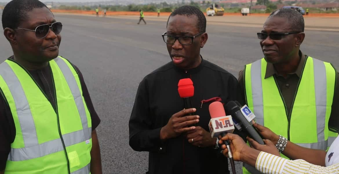 We'll continue to develop Asaba, says Gov Okowa - Legit.ng