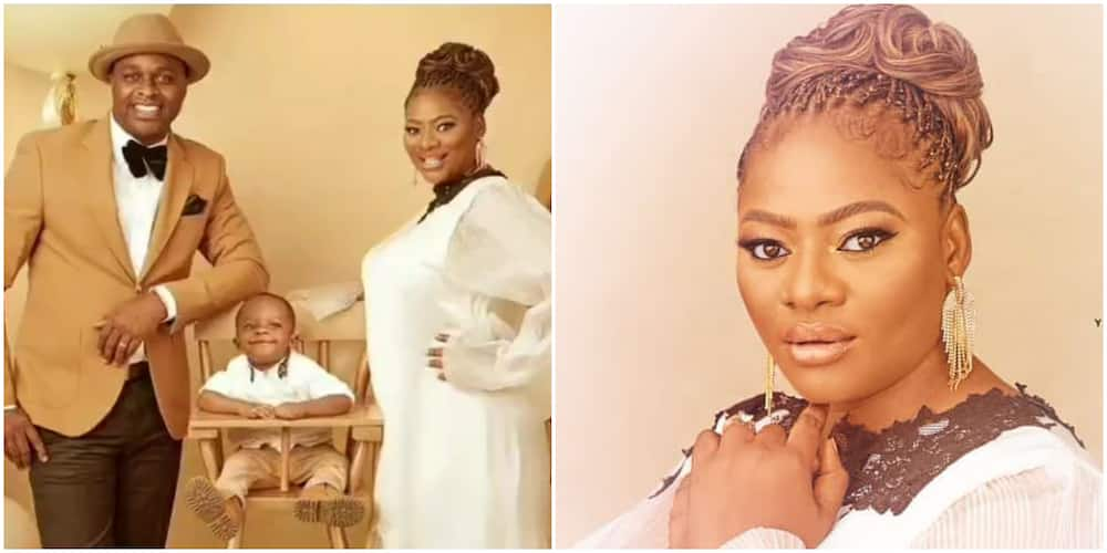 Actor Femi Adebayo's wife
