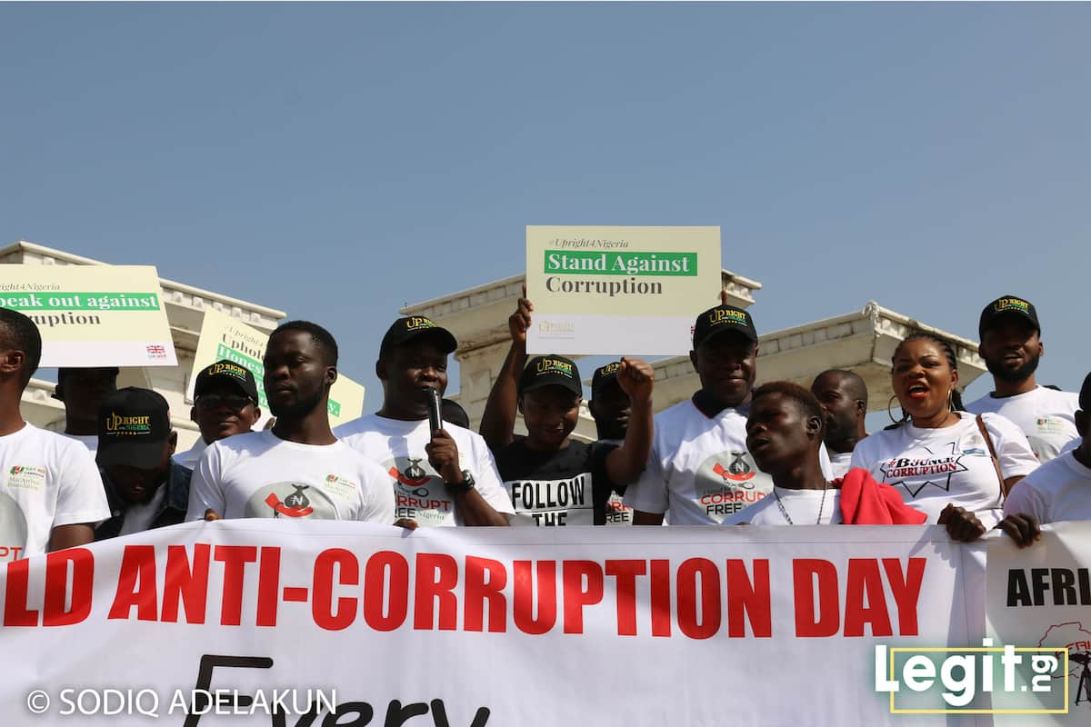 Say No Campaign leads march against corruption to commemorate 2018 International Day of Anti-Corruption