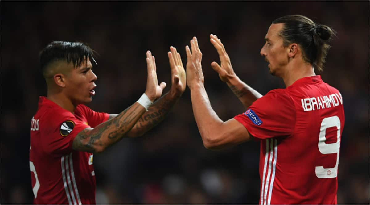 He started yelling at me telling me a lot of things - Rojo on clash with Zlatan