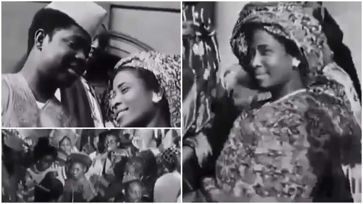 Image result for Flashback video of Yoruba wedding held in London in 1954