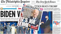 Newspaper Review: How American media reported Joe Biden's victory over Donald Trump in US election (photos)