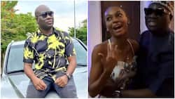 I visited Adeherself to calm her down - Mompha says after their video goes viral