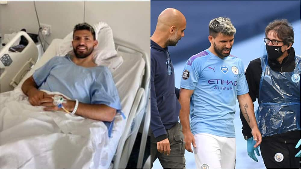 Sergio Aguero undergoes successful knee surgery, set to Real Madrid in UCL