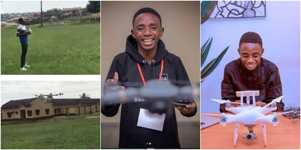 David Opateyibo built Nigeria's first locally made drone