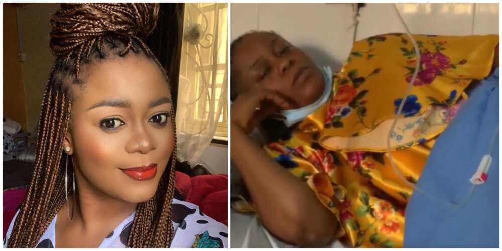 Didi Ekanem lands in hospital after malaria medicine she took, warns others