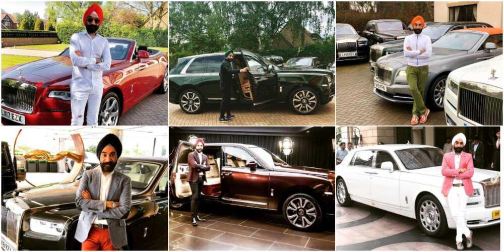 Reuben Singh is a lover of Rolls Royce