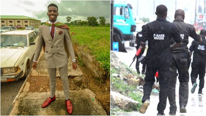 Nigerian software engineer narrates how SARS officer beat him up and extorted him for no reason
