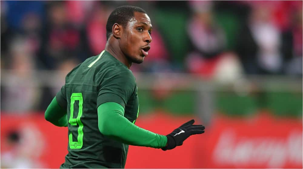 Angry Nigerian footballer Odion Ighalo blasts estrange wife Adesuma after she accused him over