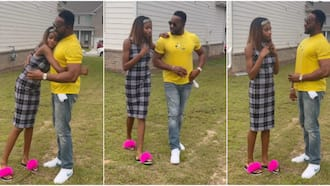 """Reactions as actor Bolanle Ninalowo shares cute video of himself and teenage daughter settling their """"beef"""""""