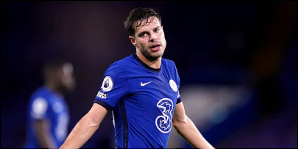 Cesar Azpilicueta's outbursts at Arsenal players heard on teh stands