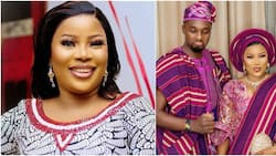 Fans fight for actress Seyi Edun after IG user mocked her for not having a child but always happy