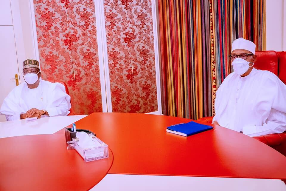Nigerian Economy: What I told Buhari about Borrowings, Lawan Speaks after Meeting President in Aso Villa