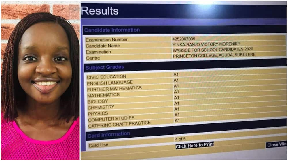 Nigerian 'genius' gets straight A's in WAEC papers, passes other int'l exams