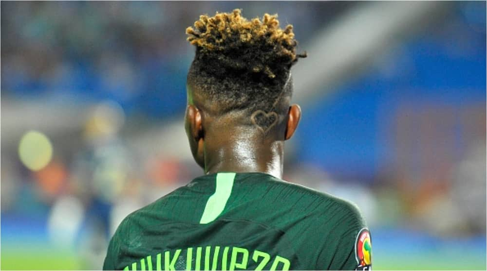 New Look Super Eagles Star Samuel Chukwueze Changes Hairstyle, Flashes Mercedes Benz C300 Worth N160m