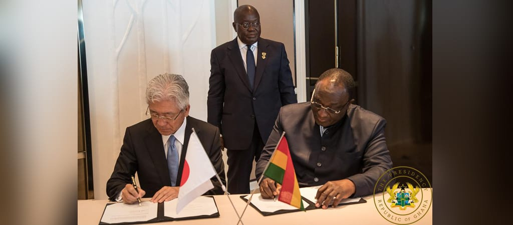 Image result for ghana president reaches deal with toyota at TICAD images