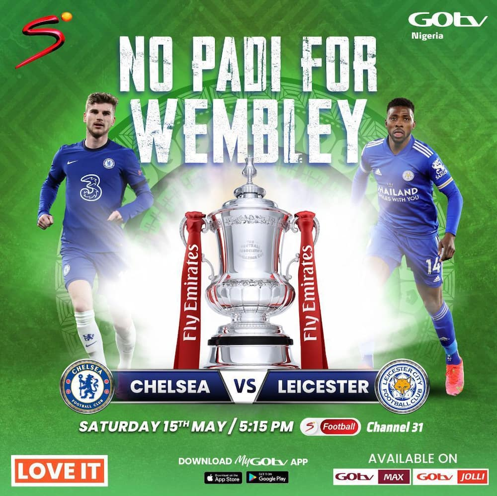 Watch the FA Cup Final Live on GOtv MAX and JOLLI this Saturday