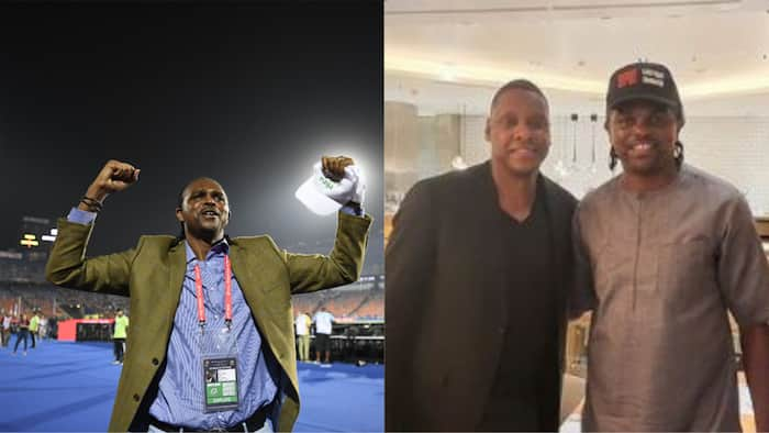 Kanu Nwankwo posts stunning video of himself meeting president of top NBA side, discloses plans for Nigeria
