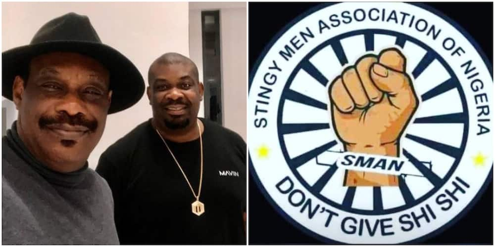 Don Jazzy's father calls for an end to SMAN as producer joins Stingy Men Association of Nigeria