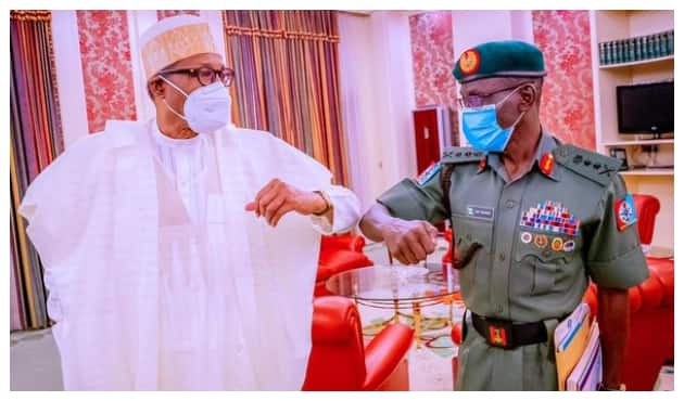 After Closed-Door Meeting with Ortom, Buhari Takes Crucial Step on Security, Photos Emerge
