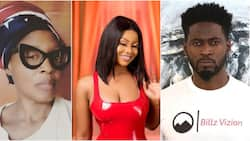 Kemi Olunloyo advises Teebillz to stop calling Tacha his daughter, says 'she is a client'