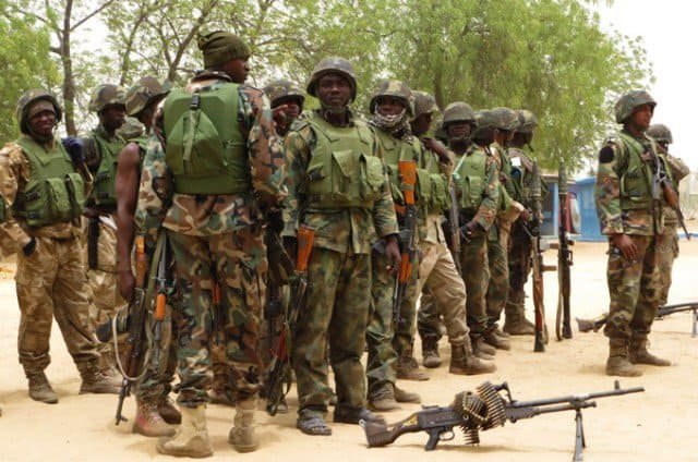 How to join the Nigerian Army in Nigeria
