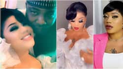 Socialite Toyin Lawani talks about her relationship with her baby daddies as she shows off her first child's dad (video)