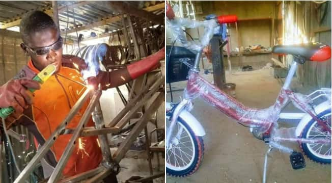 Umar Yusuf: Northern Nigerian man builds modern bicycles to empower citizens