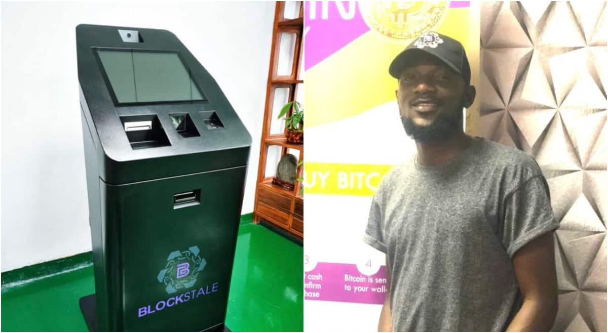 Daniel Adekunle, young entrepreneur who designed Nigeria's first Bitcoin ATM