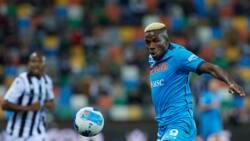 Victor Osimhen scores incredible goal as Napoli destroy tough opponents to go top on Serie A