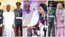 Photos of Aliko Dangote and other dignitaries celebrating at Kano Emir Sanusi's son's wedding