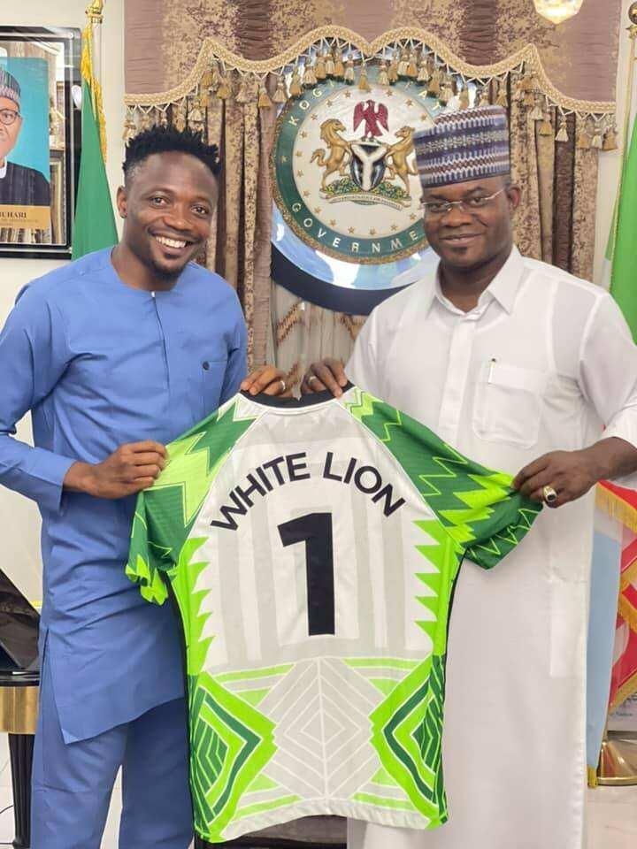 Ahmed Musa and Yahaya Bello