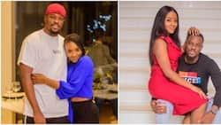 Excited Nigerian man posts cute photos with his bride-to-be for accepting his marriage proposal
