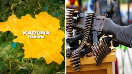 Kaduna: 'Yan bindiga sun sheke direba, sun sace mai ciki da mutum 32 a Kachia