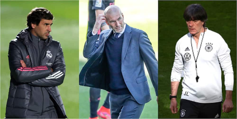 Real Madrid line up club legend and World Cup winning coach as Zidane's replacement