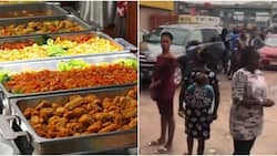 Man cries out, says he was robbed at an eatery in Egbeda Lagos with other customers