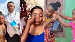 Stylish Nelissa: 11-year-old makeup artist stars in new Nigerian movie with popular celebs