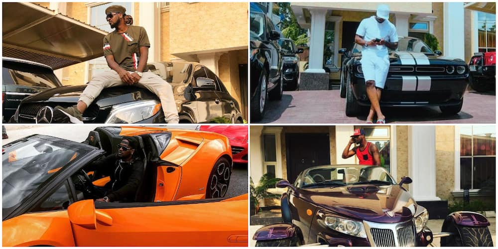 Ex-Psquare brothers and the multimillion naira luxury cars in their individual garage