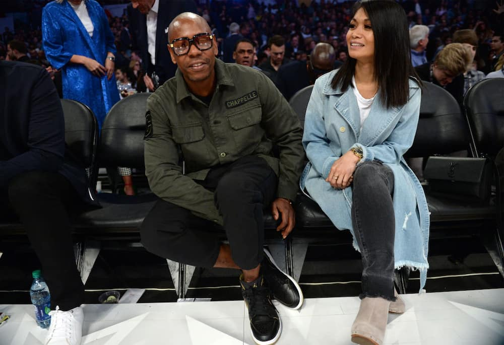 Dave Chappelle and wife