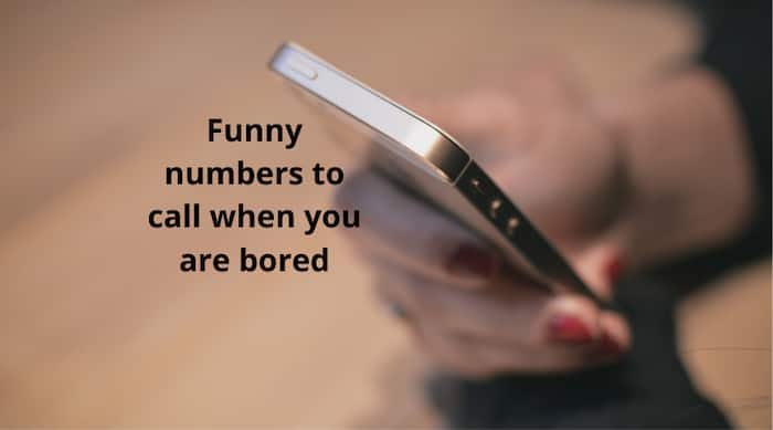 Top 10 Funny Numbers To Call When You Are Bored And Stuck At Home
