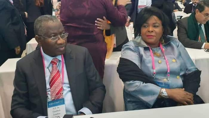 Patience Jonathan reveals important role women should play in the world, sends strong message to North, South Korea