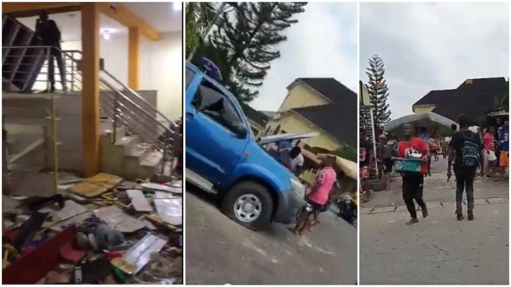 EndSARS: Hoodlums on rampage, loot NASS members' houses