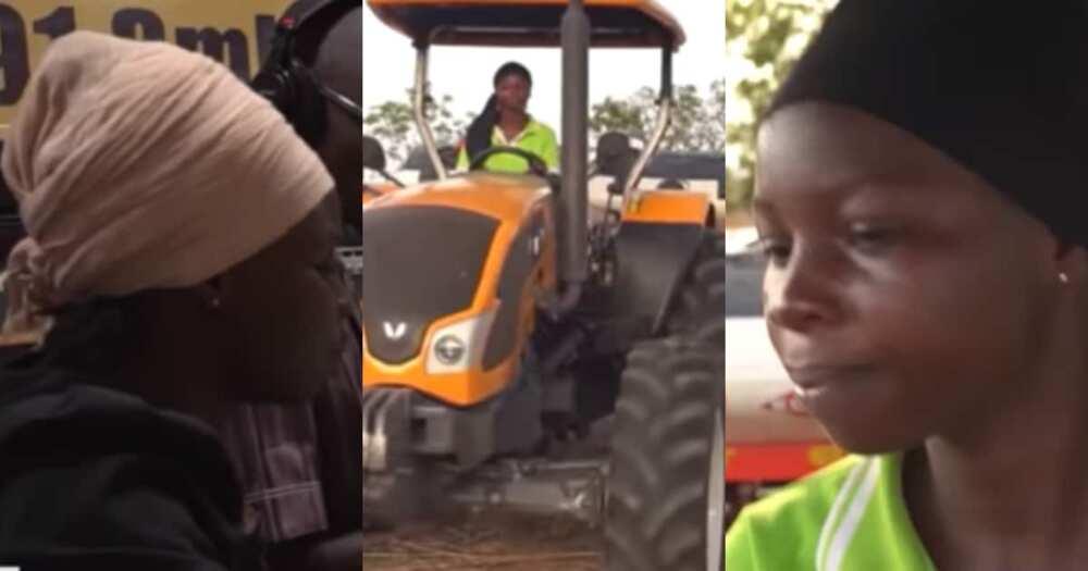 Hikimatu Kediri: Meet the first female licensed tractor driver in Northern Ghana