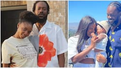 Simi's Deja all smiles as singer shares adorable family photo online, fans react