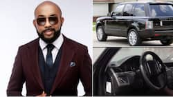 Banky W to raise money for charity projects by auctioning his recently talked-about Range Rover (video)