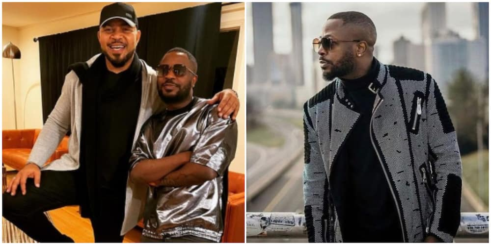 Ramsey Nouah shares new photo with Tunde Ednut, describes him as a 'gentleman'