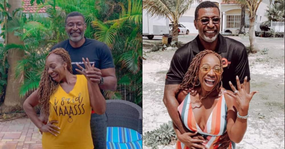 54-year-old woman who's never been married gets engaged to friend of 10 years