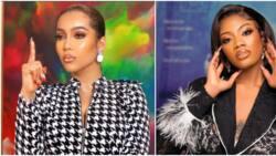 Husband snatching saga: Nigerians blast Angel and her mum for taunting Maria