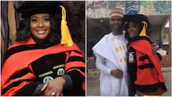 Comedienne Dr Helen Paul showers hubby with praises as she celebrates convocation in style (photo, video)